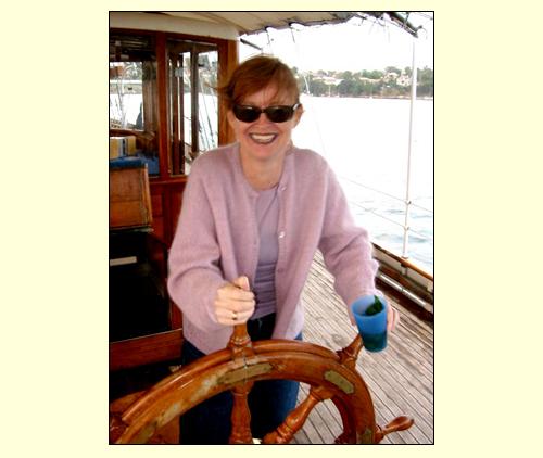 Kate At the Wheel