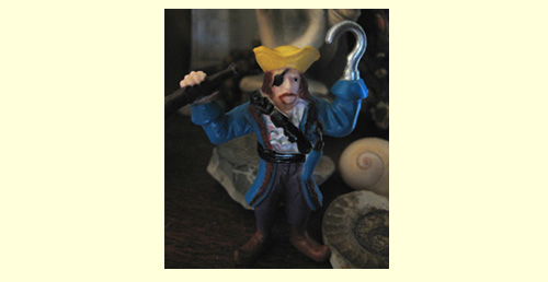 A Little Plastic Pirate