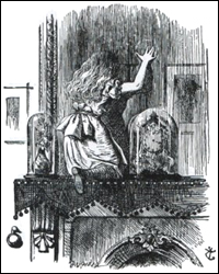 Tenniel Illustration from Alice in Wonderland