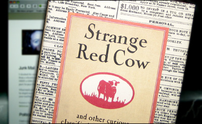 The Cover of Strange Red Cow